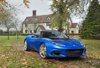 Lotus Evora GT410 Sport: ulteriore upgrade prestazionale