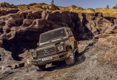 Mercedes Classe G 2018: inarrestabile come Terminator