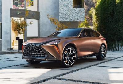 Lexus LF-1 Limitless: un concept di stile