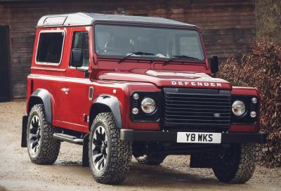 Land Rover Defender Works V8: il ritorno di un istant classic