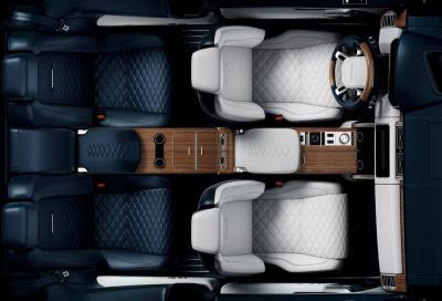 Range Rover SV Coupé: svelati gli interni