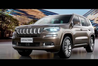 Jeep Grand Commander: la SUV dagli occhi a mandorla