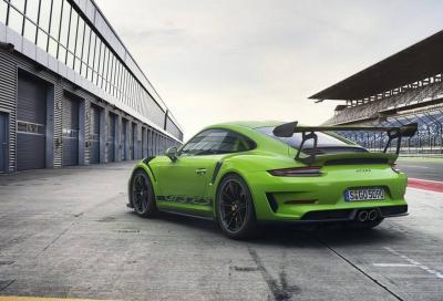 Porsche 911 GT3 RS 2018: il canto del cigno