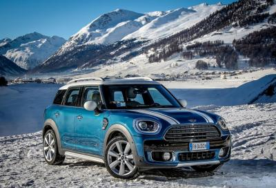 MINI ALL4: la trazione intelligente