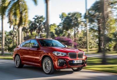 BMW X4: in arrivo la seconda generazione