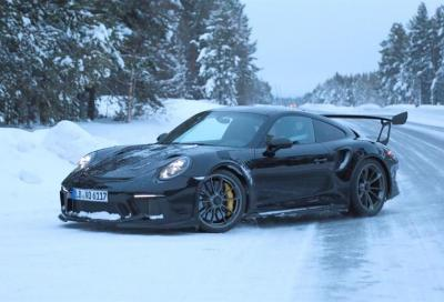Porsche 911 GT3 RS 2018: prime foto senza veli