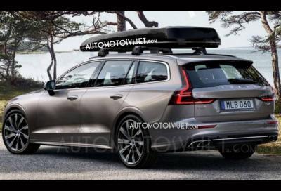 Nuova Volvo V60: svelata in un teaser