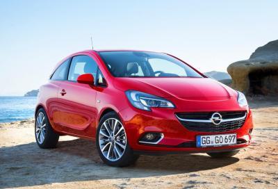 Nuova Opel Corsa: in futuro arriverà l'elettrica