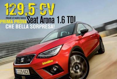 La Seat Arona 1.6 TDI è in copertina di Automobilismo di marzo