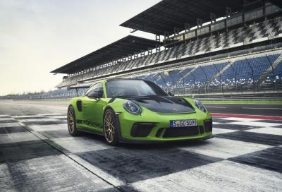 Porsche 911 GT3 RS 2018: svelati tutti i dettagli!