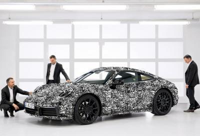 Nuova Porsche 911 (992): sposa l'ibridizzazione