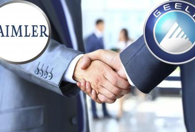 I cinesi della Geely approdano in Daimler
