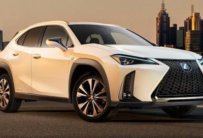 Nuova Lexus UX: svelata da un teaser