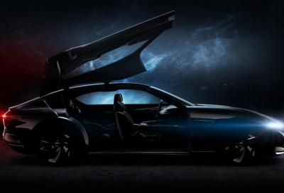 Pininfarina: la HK GT si mostra in un nuovo teaser