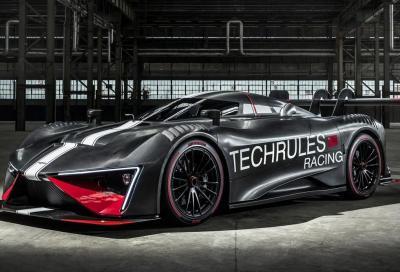 Techrules Ren RS: l'elettrica con turbina a gasolio