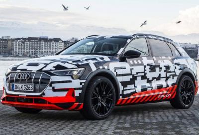 Audi e-tron: manca davvero poco