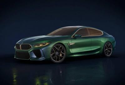 BMW M8 Gran Coupé: il concept in scena al GIMS