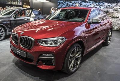 Nuova BMW X4: a Ginevra con più grinta