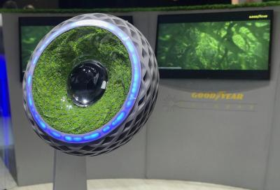 Goodyear Oxygene: lo pneumatico eco-friendly