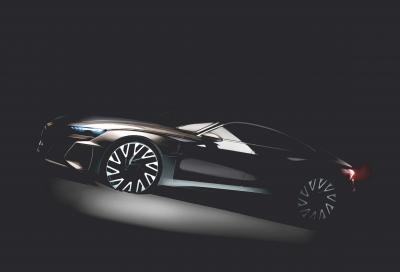 Audi e-tron GT: nel 2020 sarà realtà