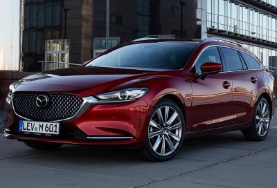 Nuova Mazda6 Wagon: il comfort è di casa