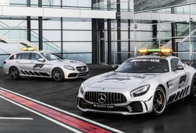 """Mercedes-AMG GT R F1: la """"badante"""" delle monoposto di F1"""