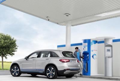 Mercedes-Benz Fuel-Cell: elettricità dall'idrogeno?