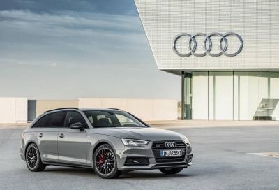 Audi A4 S-line Black: sportiva e tenebrosa