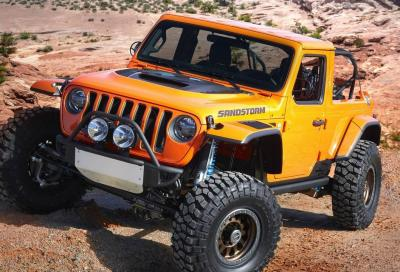 Al Moab Easter Safari 7 concept marchiate Jeep