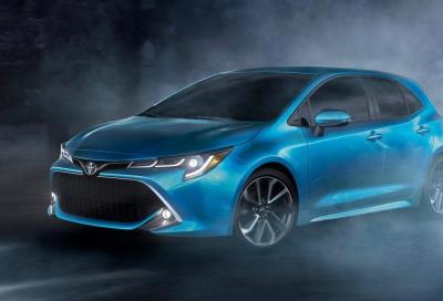 Toyota corolla: a New York la gemella dell'Auris
