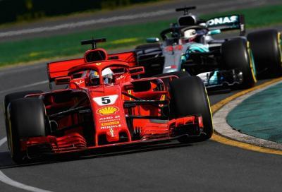 F1, Vettel batte Hamilton a Melbourne