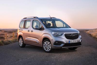 Opel Combo Life: la nuova multispazio familiare