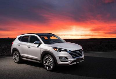 Hyundai Tucson: leggero restyling