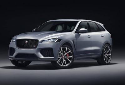Jaguar F-Pace SVR: esagerare con stile