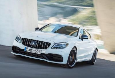 Mercedes-AMG C 63 Coupé: restyling tecnologico