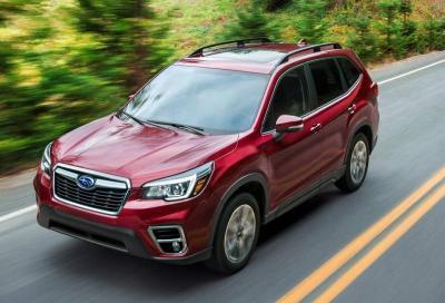 Subaru Forester: la sicurezza è di casa