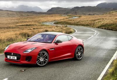 Jaguar F-Type 2019: restyling dinamico
