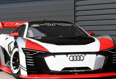 Audi e-tron Vision Gran Turismo: non è più solo un gioco