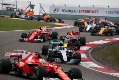 F1, GP della Cina: anteprima e orari TV