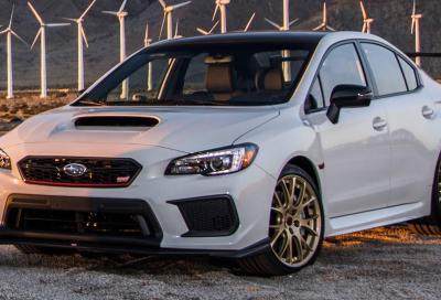 WRX STI Type RA: buon compleanno Subaru