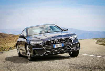 Audi A7 Sportback: elegante e tecnologica