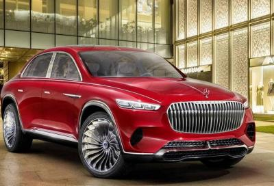Maybach Ultimate Luxury Concept: l'arrivo è vicino