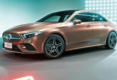 Mercedes-Benz Classe A L Sedan: la berlina per la Cina