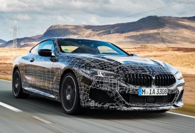 Nuova BMW Serie 8: al via i collaudi finali