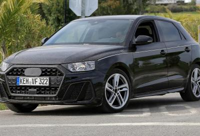 Nuova Audi A1: com'è dal vivo