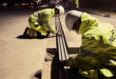 La prima strada elettrificata ha sede in Svezia