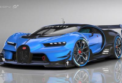 Bugatti Vsion GT: una Chiron super vitaminizzata