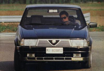 Alfa 75 Turbo: tanti cavalli e un buon comfort