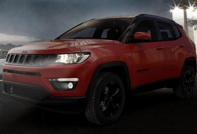 Jeep Compass Night Eagle: total black