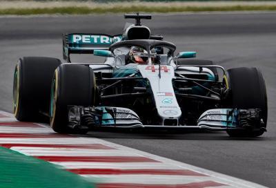 F1, GP di Spagna: sfilata Mercedes, vince Hamilton davanti a Bottas